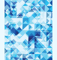 triangular or square geometric abstract seamless vector image vector image
