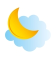 weather symbol isolated icon vector image vector image
