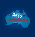 australia day banner for australia national day vector image vector image