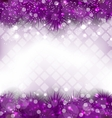 Glowing Luxury Background with Fir Branches vector image