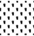 hand pattern seamless vector image