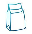 paper food bag vector image