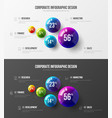 premium quality marketing analytics presentation vector image