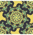 Seamless mandala Vintage decorative element vector image
