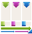 Set of elements of infographics vector image vector image