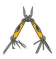 Stainless steel multifunctional pocket multi tool