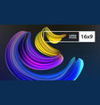 stock multicolored realistic vector image vector image