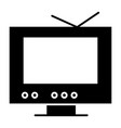 Tv solid icon monitor