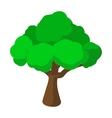 Tree cartoon icon vector image