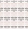 abstract stripes folk art texture seamless vector image vector image