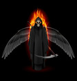 Angel of death vector image vector image