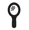 mirror icon design vector image