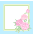 peon frame blue vector image
