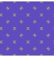 Stars geometric seamless pattern 4806 vector image vector image