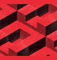 abstract geometric isometric vector image