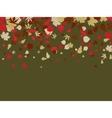 autumn retro background vector image