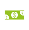 banknote money cash currency payment icon vector image vector image