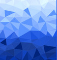 blue abstract geometric background vector image vector image