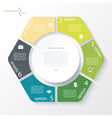 Business concept design with circle vector image