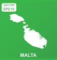 malta map icon business concept malta pictogram vector image vector image