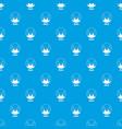monero pattern seamless blue vector image vector image