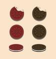 Oreo cookies chocolate and red velvet