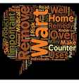 The Dangers of At Home Wart Removal text vector image vector image
