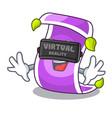 virtual reality cartoon fairytale story and magic vector image vector image