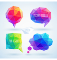 bubbles hipster set vector image vector image