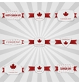 Canada Day national Badges Set vector image