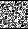 cogwheels background - seamless pattern vector image