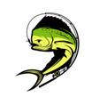 fishing vector image