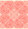 flower seamless pattern element elegant vector image