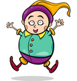 gnome or dwarf cartoon vector image vector image