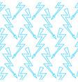 lightning symbol pattern vector image
