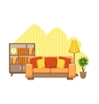 Living Room Interior Design vector image
