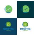 marketing company vector image vector image