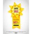 Paper Banner Paper Sale Banner Paper banner vector image vector image