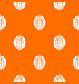 ripe smiling melon pattern seamless vector image vector image