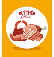 seal butcher vector image vector image