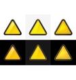 triangle web button