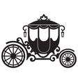 Vintage carriage vector image vector image