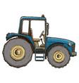 farming tractor vector image