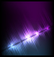 blue-purple diagonal wave abstract equalizer vector image vector image