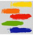 color blots set vector image