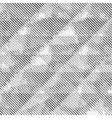 Grunge halftone dots texture background vector image vector image