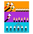 human resources and hiring vector image