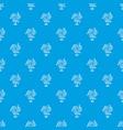 iota pattern seamless blue vector image vector image