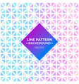 line pattern background vector image vector image