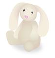 Rabbit Stuffed Animal vector image